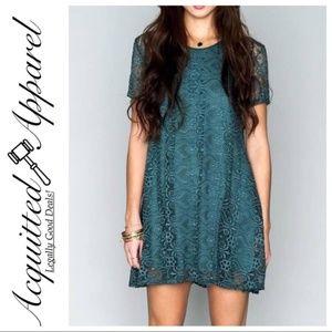 Show Me Your MuMu Nicks Lave Lace Babydoll Dress